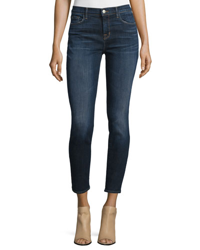811 Mid-Rise Skinny Cropped Jeans