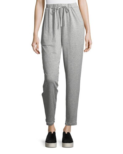 Terry Slouchy Ankle Pants