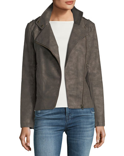 Faux-Suede Jacket