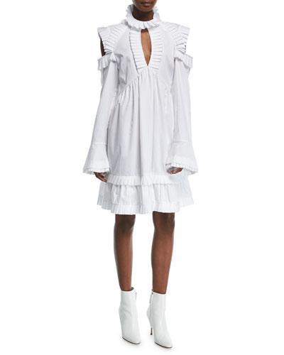 Olivia's Cold-Shoulder Dress