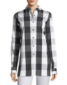 Jessie Seaway Check Shirting Blouse