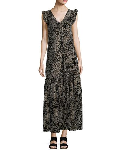 A Line Maxi Dress Neiman Marcus