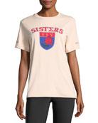 Sisters Short-Sleeve Printed Reversible Tee