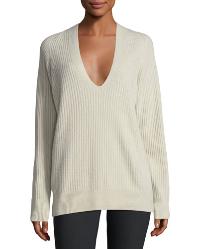 Vince Ribbed Sweater | Neiman Marcus