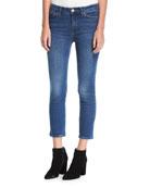 Niki Mid-Rise Crop Skinny-Leg Jeans
