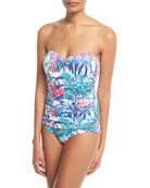 Marjorelle V-Wire Bandeau One-Piece Swimsuit