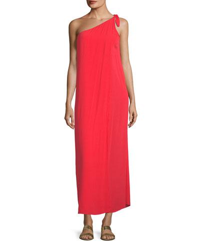 Camilla One-Shoulder Shift Dress