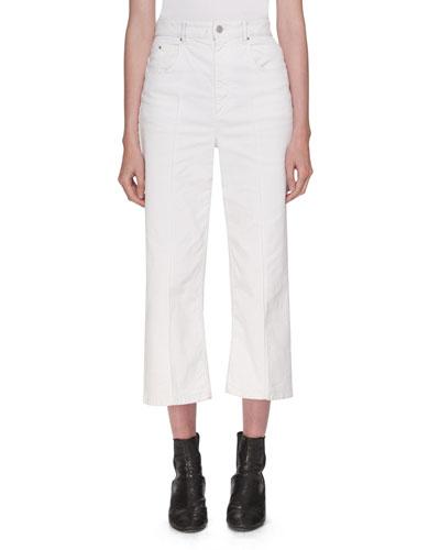 523c6b8b2333 White Wide-leg Jeans