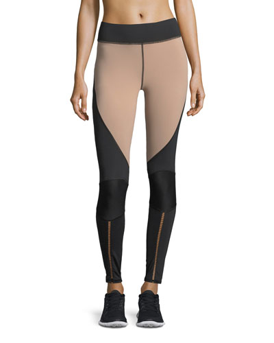 Shift Colorblocked Full-Length Performance Leggings
