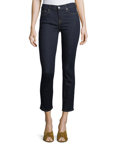 Roxanne Straight-Leg Ankle Jeans