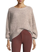 Athena Oversized Knit Pullover Sweater