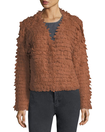 The Short Monster Loop-Knit Sweater