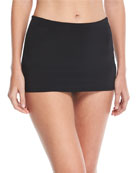 Active High-Waist Skirted Swim Bikini Bottom