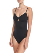 Active Keyhole Maillot One-Piece Swimsuit