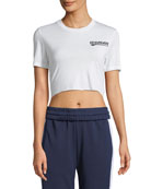 Tiny Landscaping Short-Sleeve Crop Top