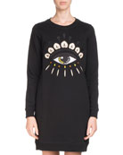Crewneck Signature Classic Sweatshirt Dress