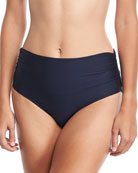 Premier High-Waist Banded Swim Bottom