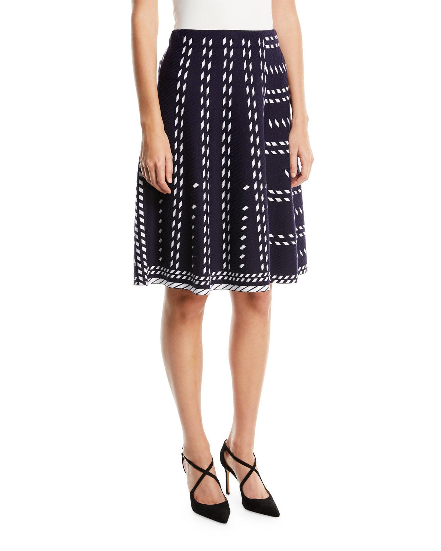 Falling Star Twirl Skirt, Plus Size
