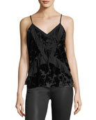 Paris Velvet Georgette Camisole Top