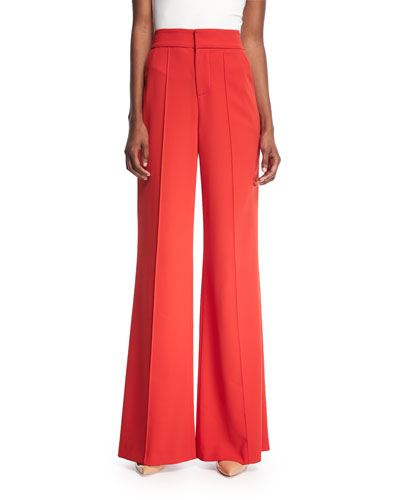 Dylan High-Waist Wide-Leg Pants