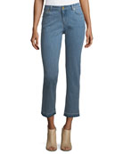 Released-Hem Cropped Jeans