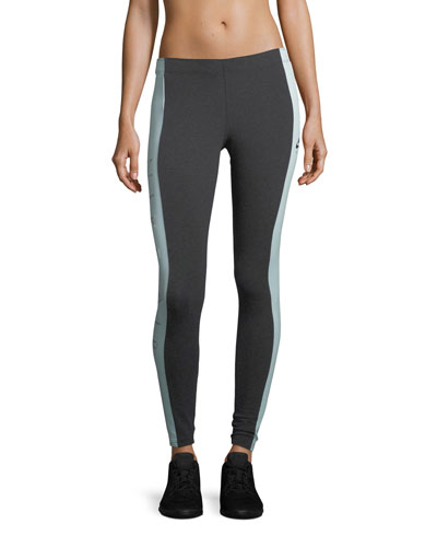 Air Paneled Full-Length Leggings
