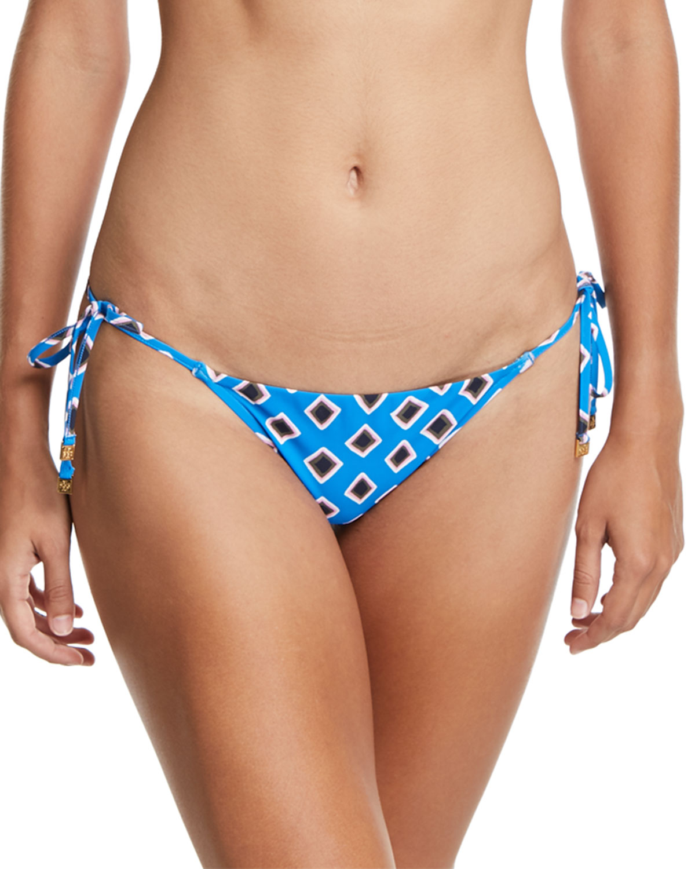 Jacinta Printed Side-Tie Swim Bottoms