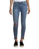 The High-Waist Stiletto Skinny Jeans