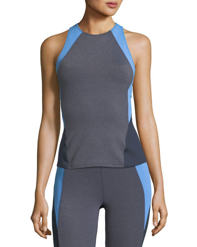 Olympic Colorblocked Performance Top