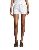 Carrie High-Rise Denim Shorts