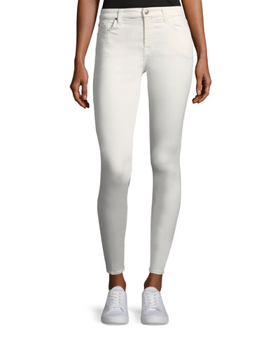 B(Air) Mid-Rise Ankle Skinny-Leg Jeans
