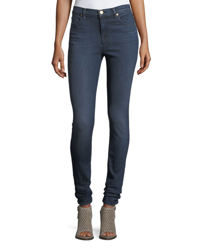 Maria High-Rise Skinny-Leg Jeans