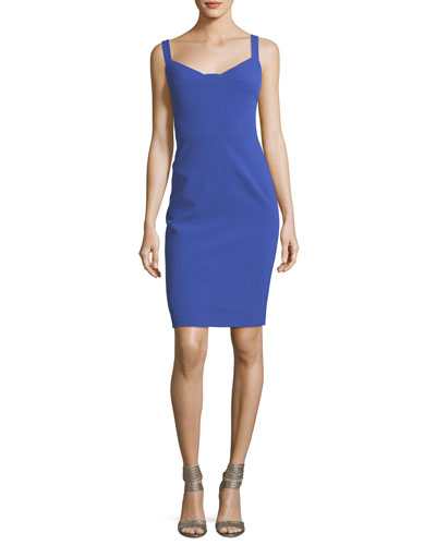 Vista Sweetheart Sleeveless Sheath Dress