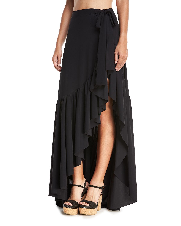 Iggy Ruffle Wrap Skirt