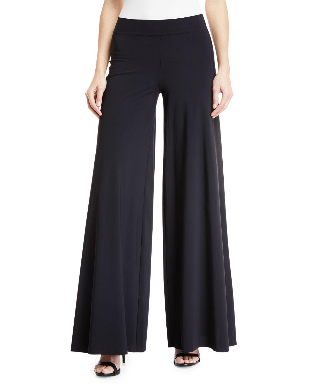 Skyla Wide-Leg Jersey Coverup Pants
