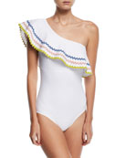 Zola One-Shoulder One-Piece Swimsuit