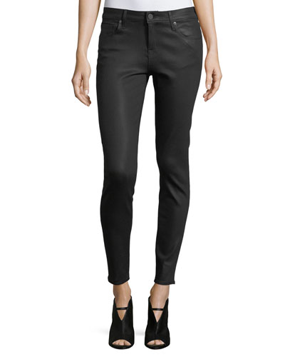 Ava Coated Skinny Jeans