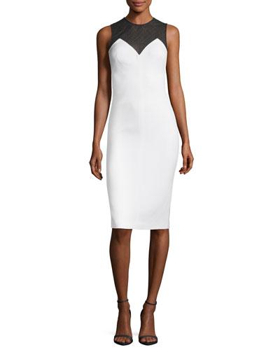 Mixografia Sleeveless Knee-Length Dress