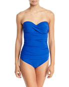 Tutti Frutti Bandeau Underwire One-Piece Swimsuit - D Cup