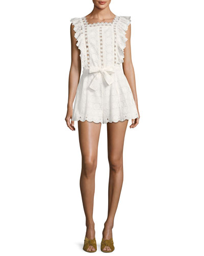 Kali Daisy Lace Playsuit