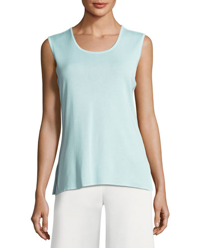 Scoop-Neck Tank, Mint
