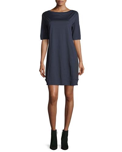 Abito Corto Half-Sleeve Mini Dress