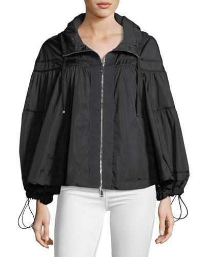 Lapis Topper Jacket w/ Hood