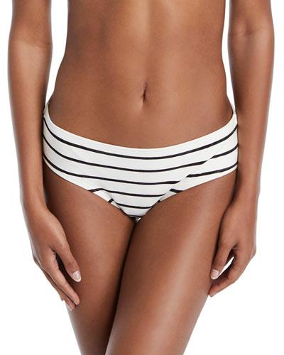 stinson beach striped bikini swim bottoms