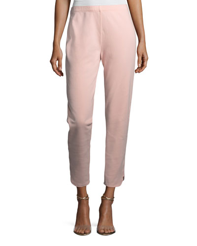 Ankle Pants w/ Notch Detail, Plus Size