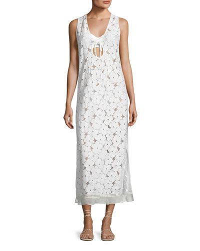 Orli Lace Maxi Coverup Dress