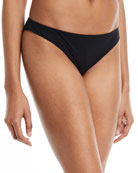 Low-Rise Hipster Solid Swim Bottoms