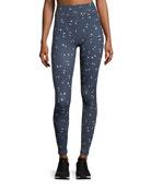 Mirada Full-Length Printed Yoga Pants