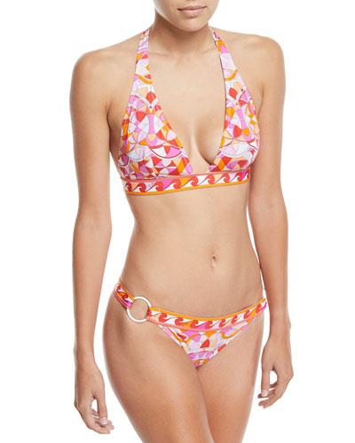 Arenal Printed Two-Piece Bikini Swim Set