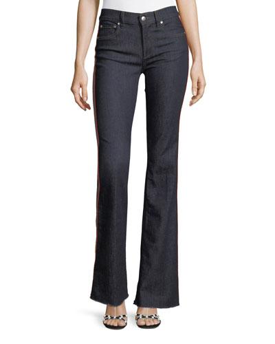 Rinse-Washed Stretch-Denim Jeans